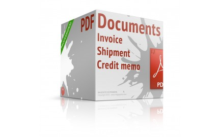 Magento extension PDF INVOICE