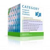 Magento Categories Import \ Export